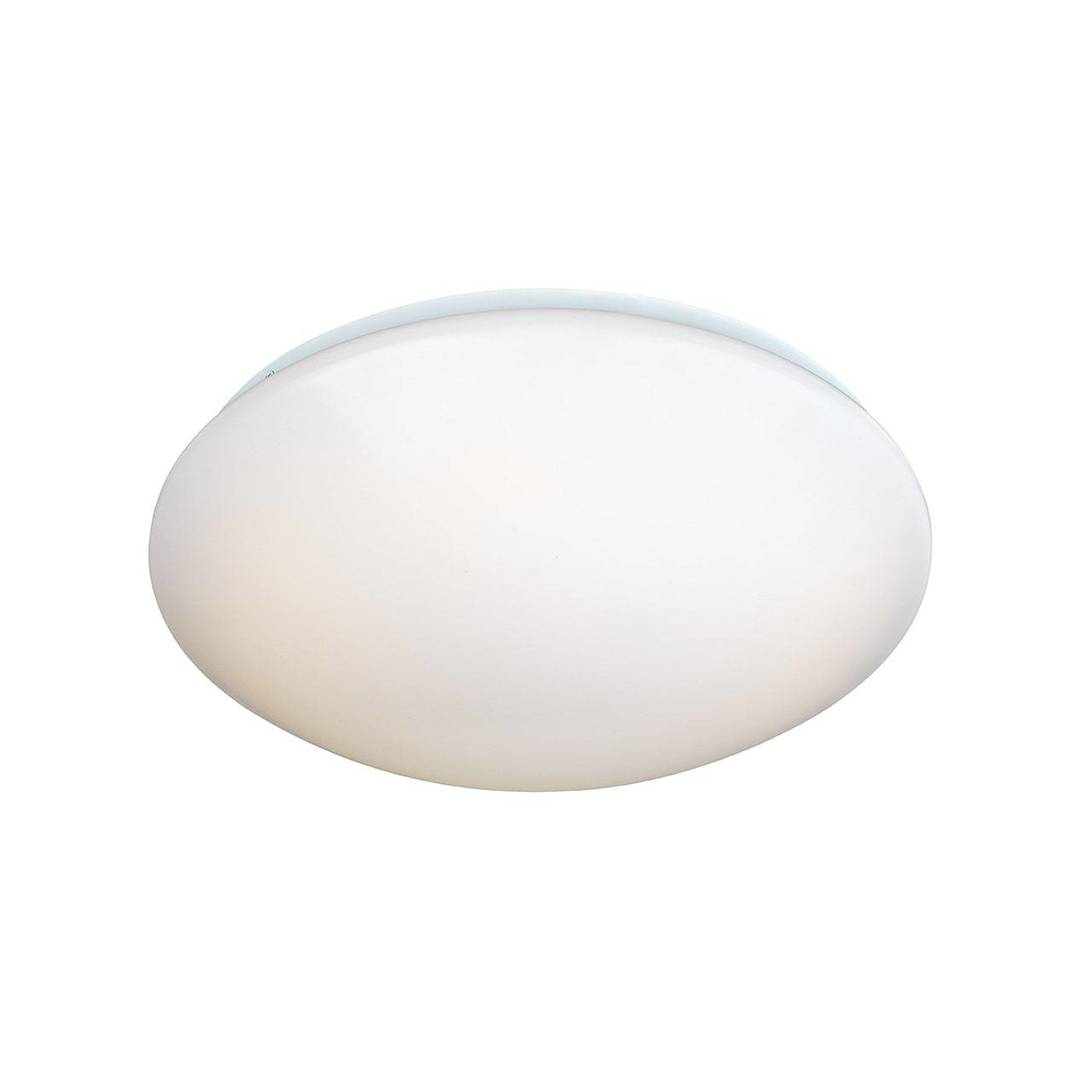 PLAIN Plafon 34cm LED bílá