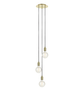 SKY Hanging 3L Round Gold small 0