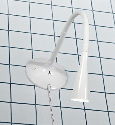 SNAKE Nástěnné svítidlo 1L White