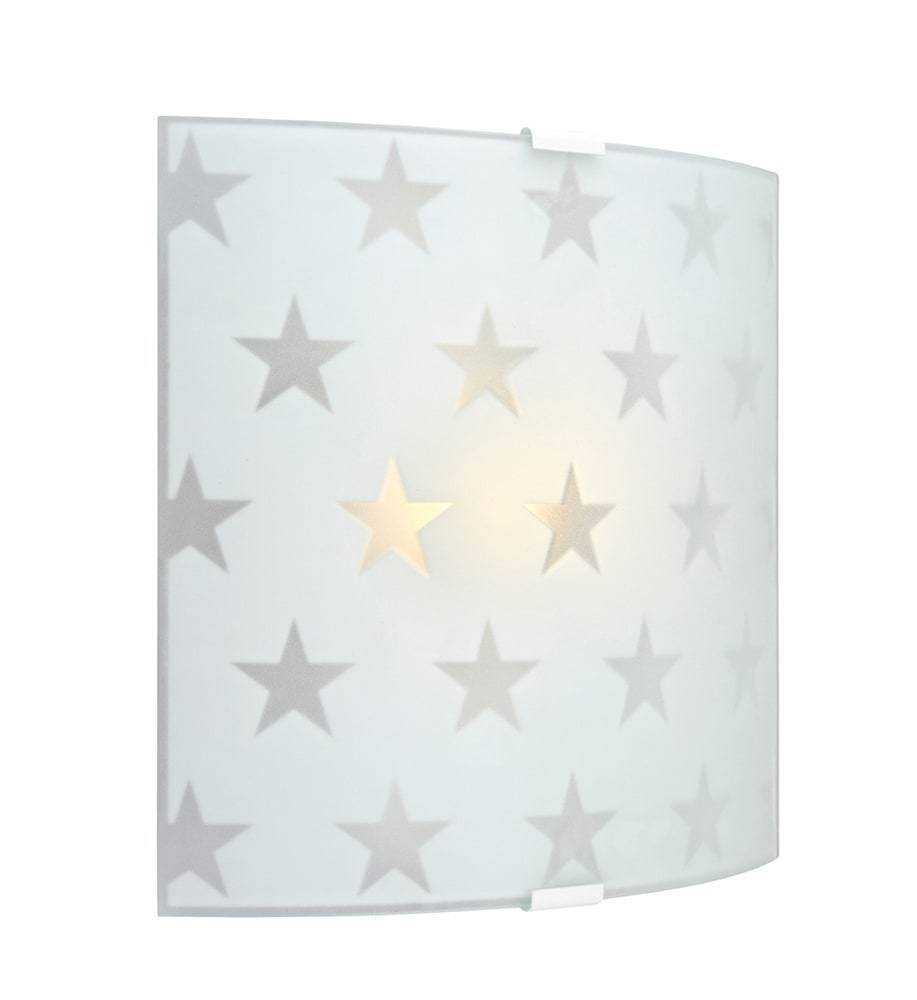 Star LED Matte Wall Sconce