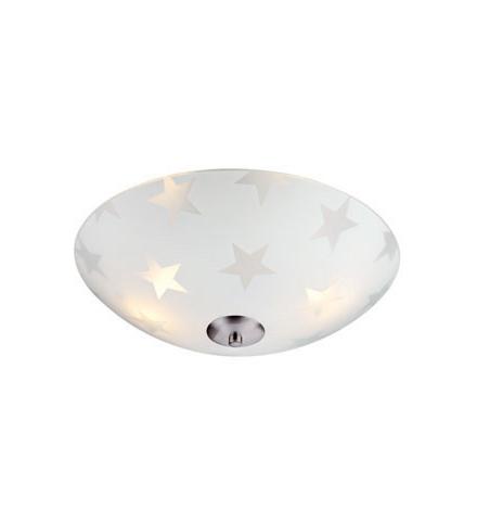 STAR LED Plafon 35cm Matowy / Stal