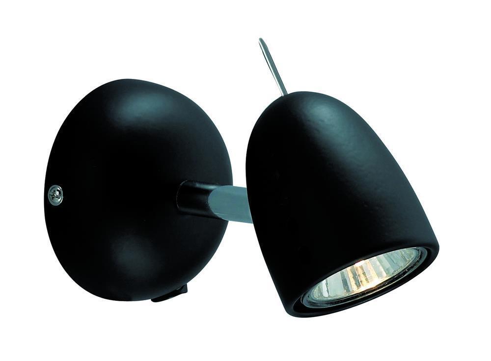 TOBO Kinkiet 1L Chrome / Black