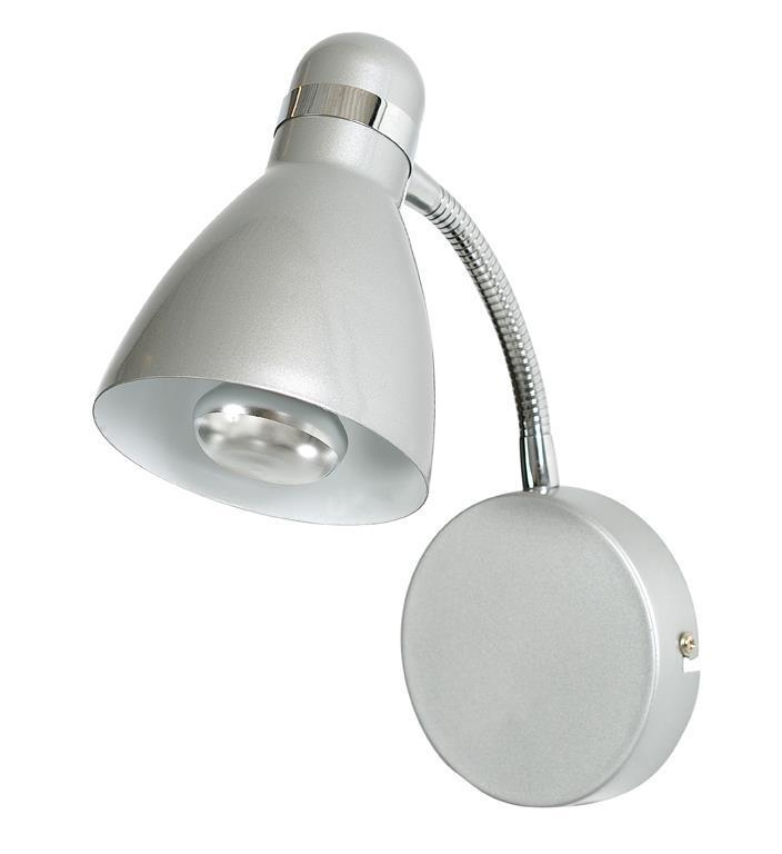 VIKTOR Nástěnné svítidlo 1L Grey