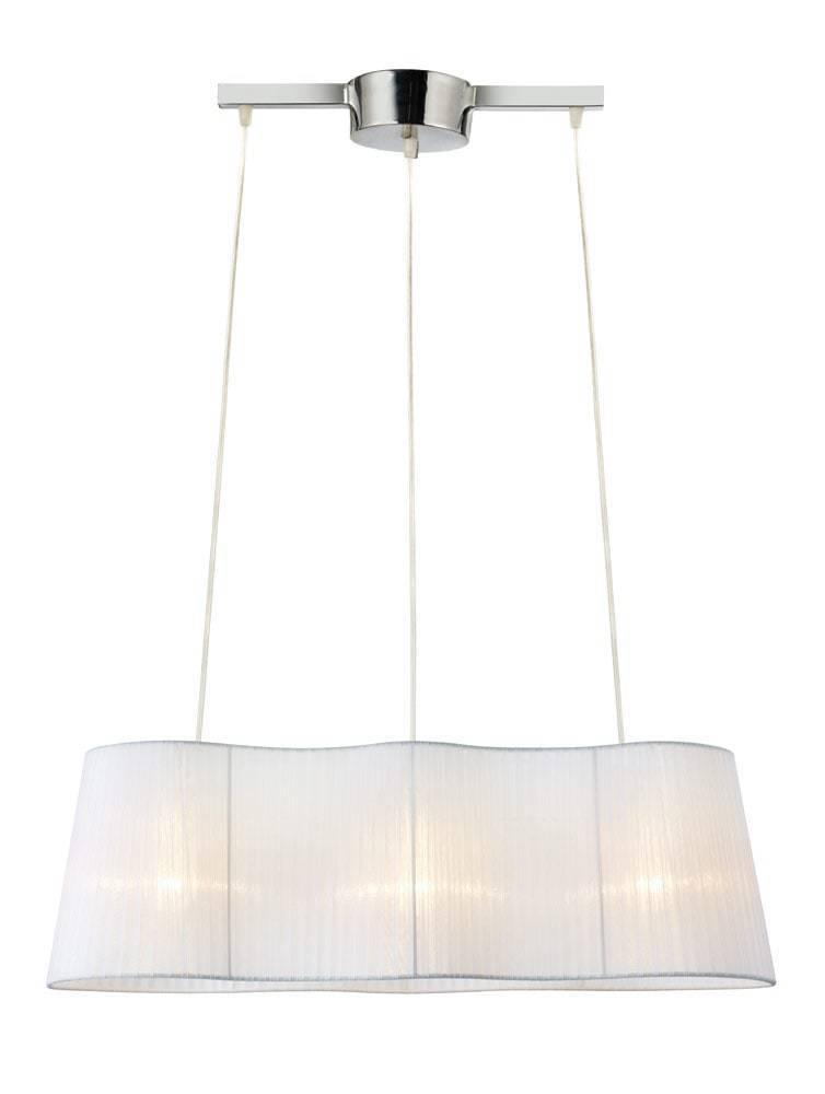 VISINGSÖ Závěsné 3L 76,5cm bílé