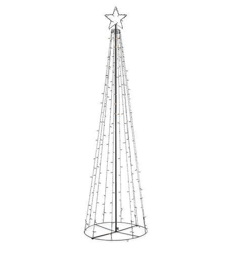 Venkovní vánoční stromeček TORN 250cm LED