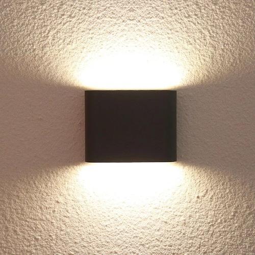 Venkovní nástěnná lampa Sapri černá IP54