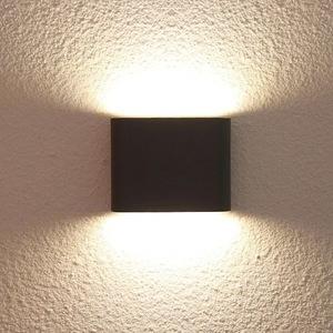 Venkovní nástěnná lampa Sapri černá IP54 small 1