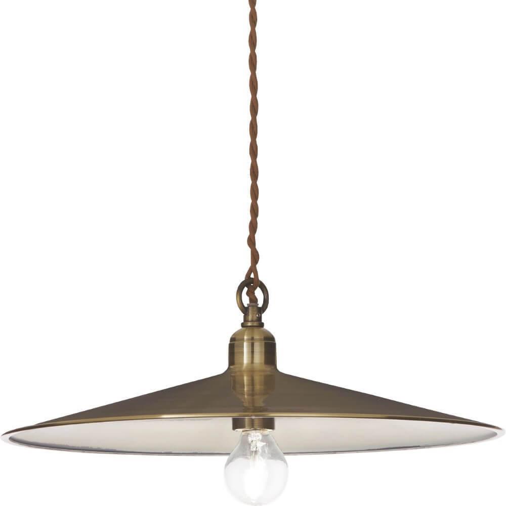 Brown Valeria Přívěsek lampa