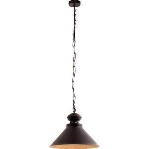 Černá se zlatou barbra Pendent lampa small 1