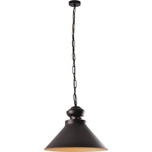 Černá a zlatá kovová lampa Dominika small 0