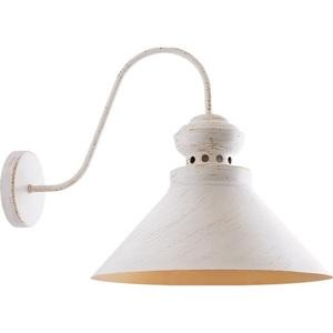 Bílé a zlaté kovové Leopard nástěnná lampa small 1