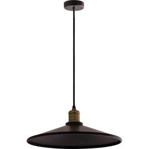 Černé kovové Elaine přívěsek lampa small 1