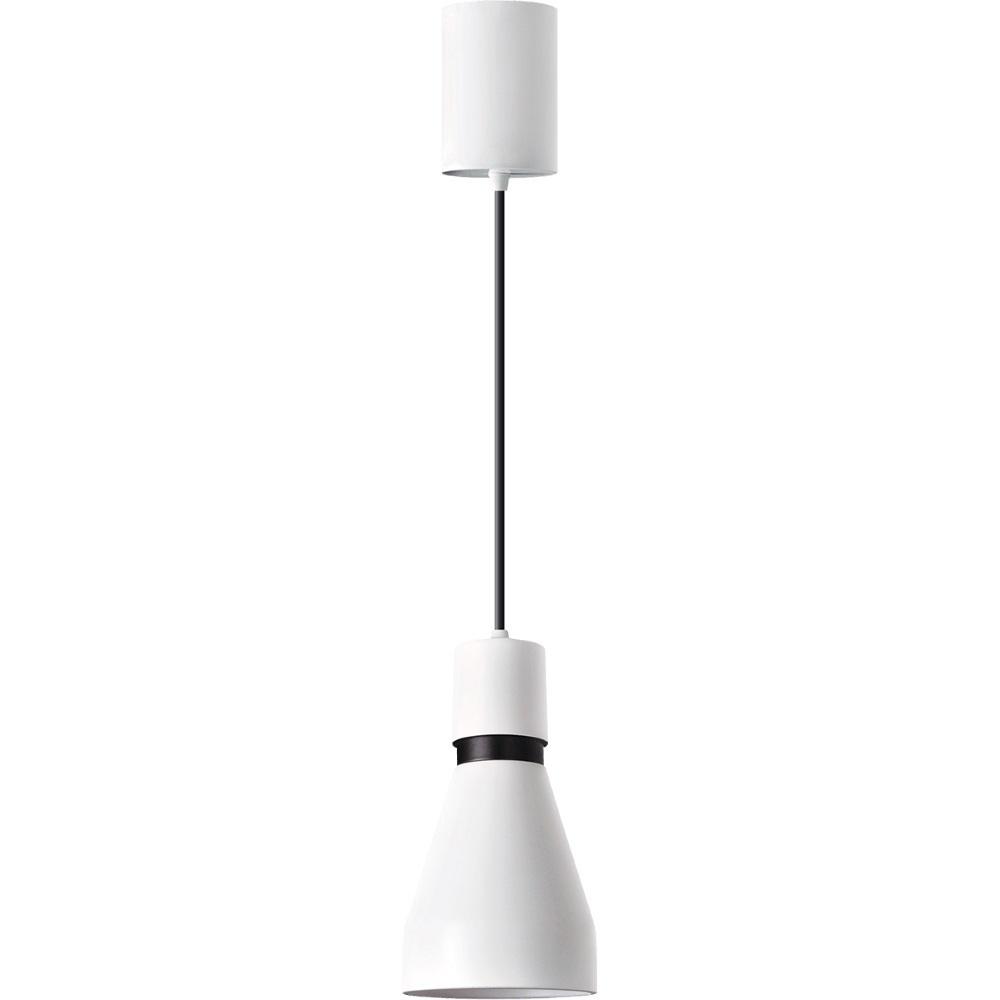Estelle White Metal přívěsek lampa