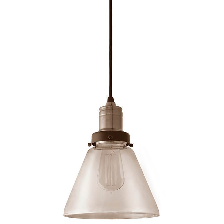 Ambre visí lampa Lea