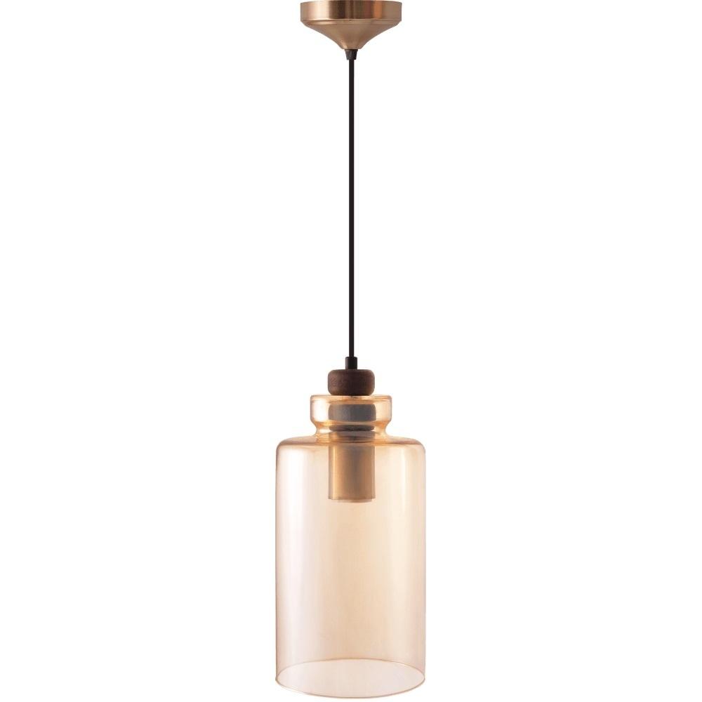 Lampa s přívěskem Ambre Glass Marina