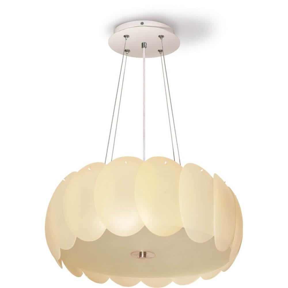 Béžová Brittany přívěsná lampa