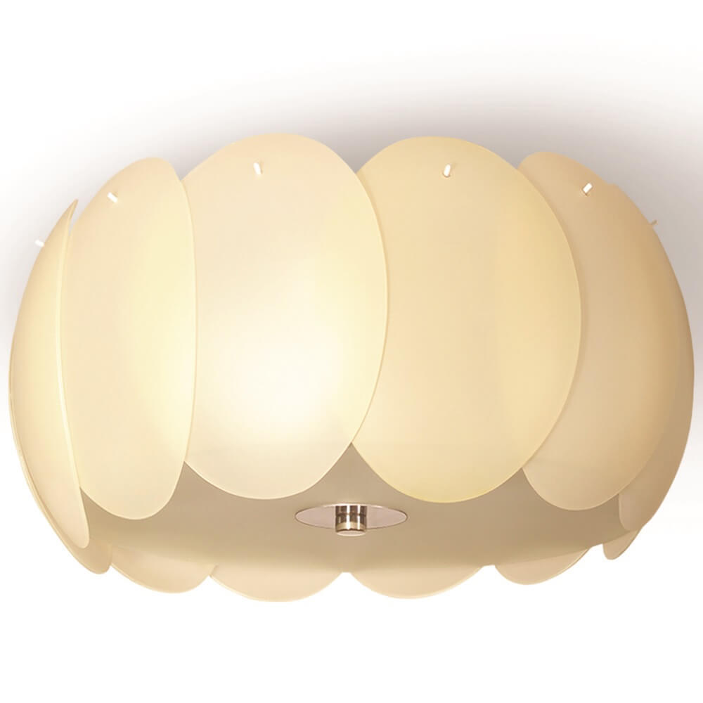 Béžová závěsná lampa Trish