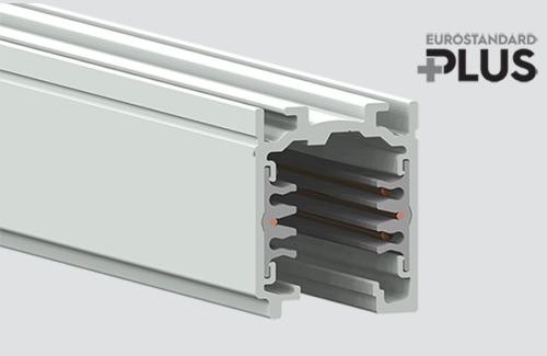 Přípojnice EUROSTANDARD PLUS délka 100cm (RAL 9010) STUCCHI bílá