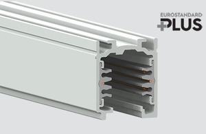 Přípojnice EUROSTANDARD PLUS délka 200cm (RAL 9010) bílá small 0