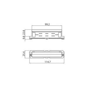 Mechanická spojka zasouvací 9003 / WM STUCCHI bílá, černá, šedá small 1