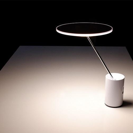 Artemide stolní lampa SISIFO bílá