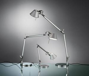 Stolní lampa Artemide Tolomeo Aluminium A001000 + A004030 small 1