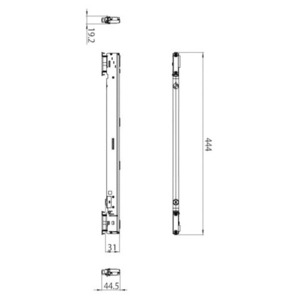 Šestipinový adaptér s integrovaným regulátorem + DALI STUCCHI černá, šedá, bílá small 1