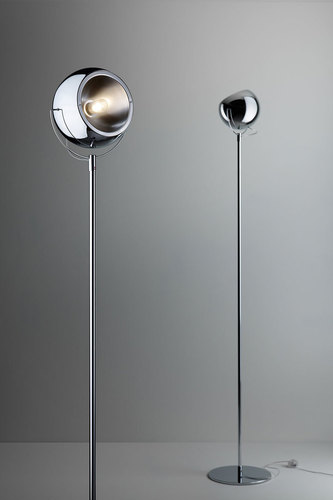 Stojací lampa FABBIAN Beluga chrom D57C0115