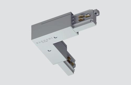 Vnitřní rohový konektor - typ L, STUCCHI bílá, černá, šedá