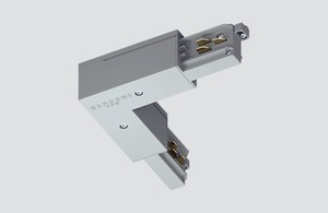 Vnitřní úhlový konektor typu L černý ONETRACK Stucchi 9011 / B small 0
