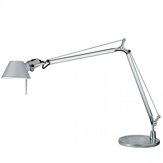 Stolní lampa Artemide Tolomeo Mini hliník