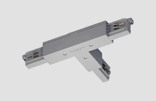 Externí konektor LEFT - typ T, STUCCHI, bílý, šedý, černý