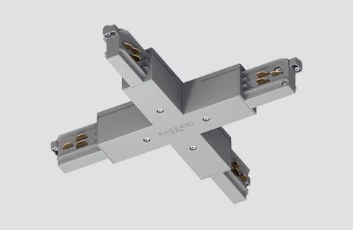 Konektor - typ X, STUCCHI, bílý, šedý, černý