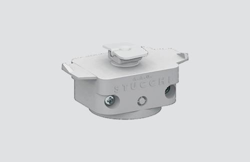 Mechanický adaptér STUCCHI, bílý, černý, šedý