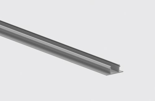 Zarážka kolejnice 100cm IP40 STUCCHI, bílá, šedá, černá