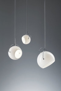 Závěsná lampa Fabbian Beluga White D57 13W 20cm - D57A21 01 small 1