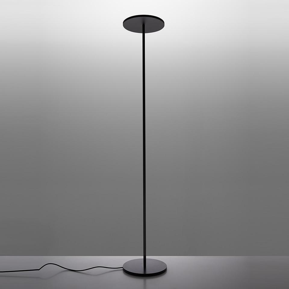 Stojací lampa LED Artemide ATHENA černá (2700K)