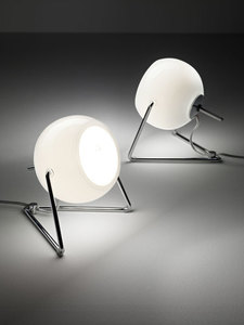 Stolní lampa FABBIAN Beluga White D57B0701 small 1