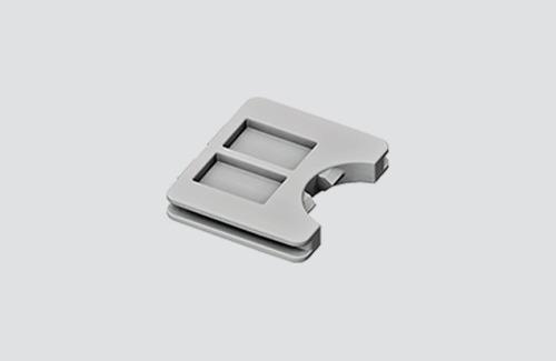Kabelový zámek pro adaptér 9009, přípojnice STUCCHI, černá, bílá, šedá