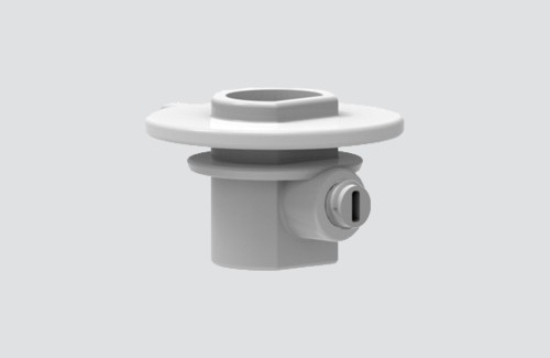 Plastová spojka s pojistným šroubem pro adaptéry 9009, přípojnice STUCCHI