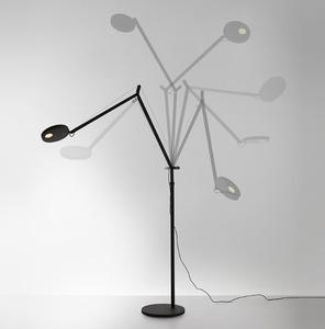 Stojací lampa pro čtení Artemide DEMETRA Antracyt 3000K / 2700K small 0