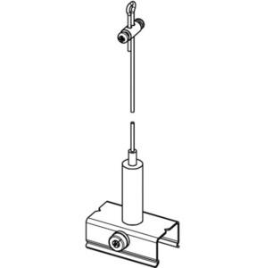 Sada závěsů BASIC s rukojetí, délka 3000 mm, STUCCHI small 1
