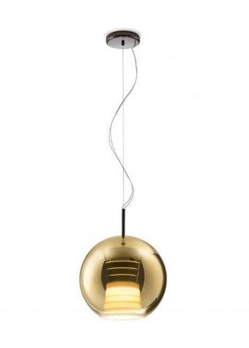 Závěsná svítilna FABBIAN Beluga ROYAL Gold D57A5312 (PRŮMĚR - 30cm)