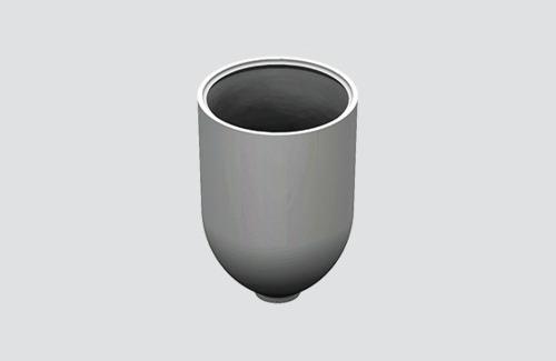 Kryt kabelu s průměrem. 1,5 mm, STUCCH, bílá, černá, šedá