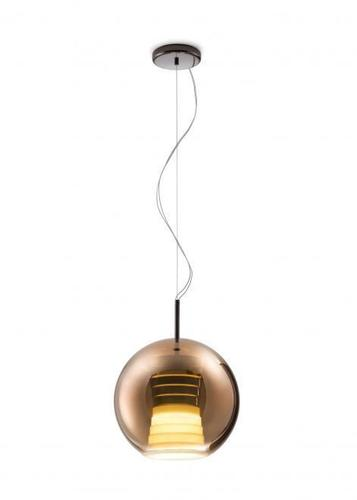 Závěsná svítilna FABBIAN Beluga ROYAL Brown D57A5341 (PRŮMĚR - 30cm)