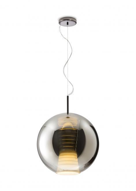 Závěsná svítilna FABBIAN Beluga ROYAL TYTAN D57A5534 (VELKÁ - 40cm)