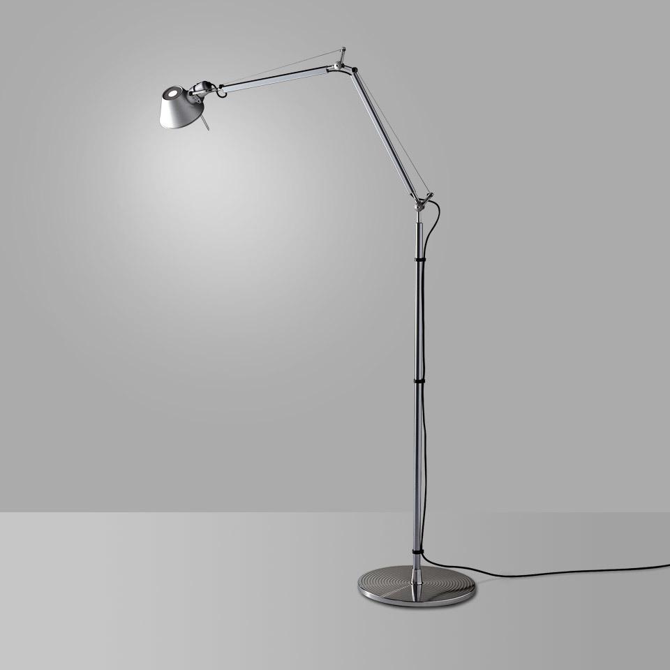 Artemide Tolomeo Aluminium A001000 stojací lampa