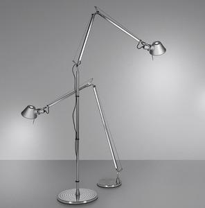 Stojací lampa Artemide Tolomeo Hliník small 0
