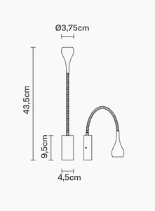 Nástěnné svítidlo FABBIAN Bijou WHITE D75D0101 small 1