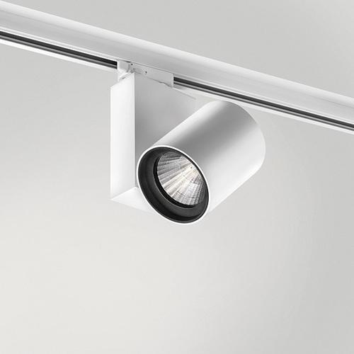 Reflektor punktowy KOR Quattrobi aluminium 32W 3000K CRI 93 kompatybilny z szynoprzewodami marki Stucchi